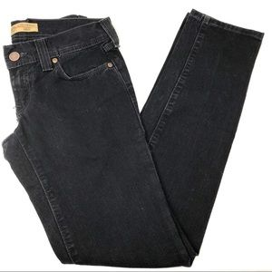 Old Navy Black Ultra Low Waist Skinny Jeans